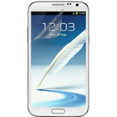 Защитная пленка для Samsung Galaxy Note2 BELKIN Screen Overlay Matte 2in1 (F8M529cw2)