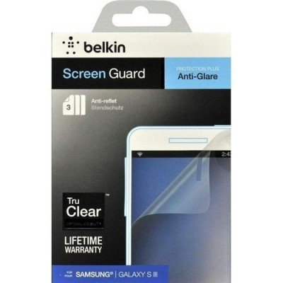 Защитная пленка для Samsung Galaxy S3 BELKIN Screen Overlay Matte 3in1 (F8N847cw3)