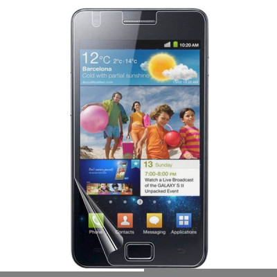 Защитная пленка для Samsung Galaxy S2 Cellular Line Clear Glass (SPI9100)