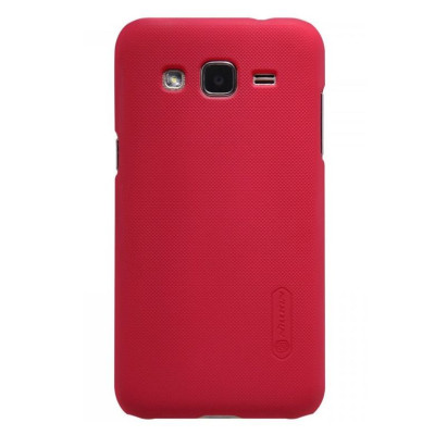 Чехол для Samsung I8552 NILLKIN Super Frosted Shield (Red)