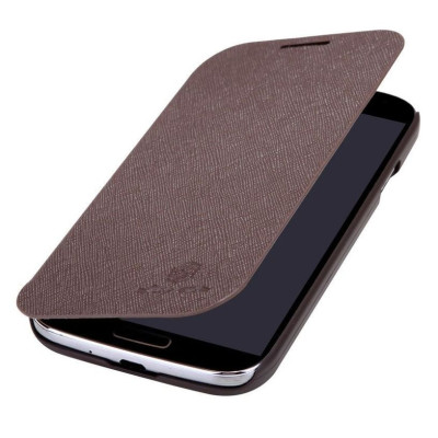 Чехол для Samsung I9082 NILLKIN Crossed Style Leather Case (Brown)