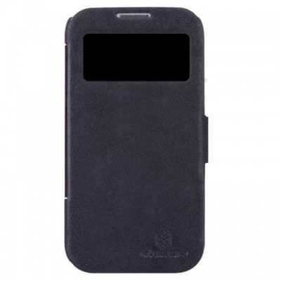Чехол для Samsung I9500 NILLKIN Fresh Series Leather Case (Black)
