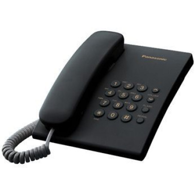 Телефон Panasonic KX-TS2350RUB Black