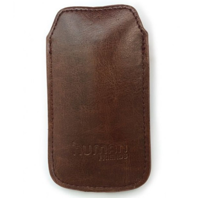 Чехол для Iphone 4/4S (CBR, Human Friends Business 4 Brown)