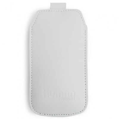 Чехол для Iphone 4/4S (CBR, Human Friends Business 4 White)