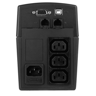 ИБП CyberPower VALUE600EI 600VA/360W USB/RS-232/RJ11/45 (3 IEC) (1PE-C000013-00G)