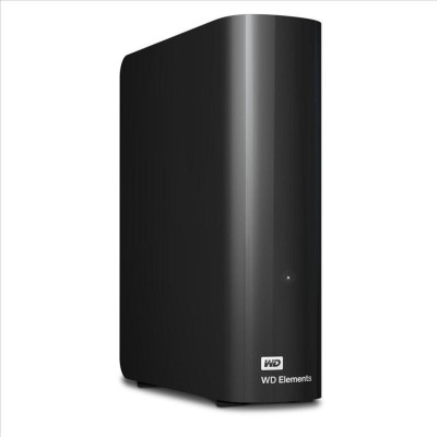 Внешний жесткий диск Western Digital 4Tb USB3.0 Elements Black (WDBWLG0040HBK-EESN)