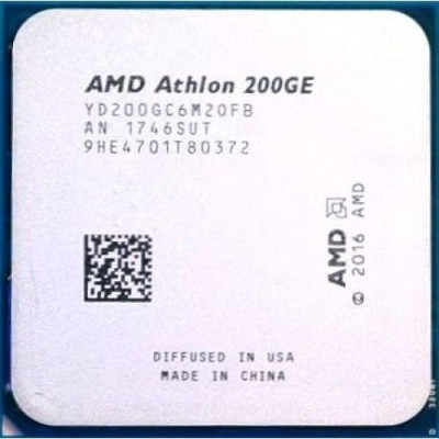 Процессор AMD Athlon 200GE Tray (YD200GC6M2OFB)
