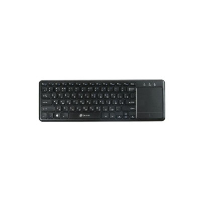 Клавиатура Oklick 830ST Wireless TouchPad Keyboard, Black
