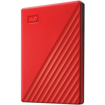 Внешний жесткий диск Western Digital 2Tb USB3.0 My Passport Red (WDBYVG0020BRD-WESN)